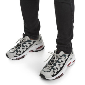 Thumbnail 7 of CELL Endura Sneakers, Glacier Gray-High Risk Red, medium