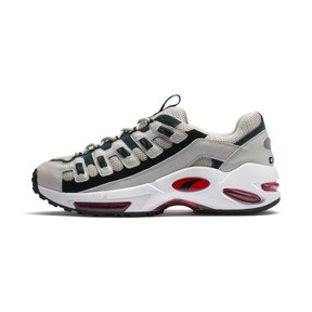 Thumbnail 1 of CELL Endura Sneakers, Glacier Gray-High Risk Red, medium