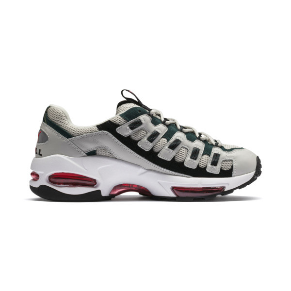 CELL Endura Sneakers, Glacier Gray-High Risk Red, large