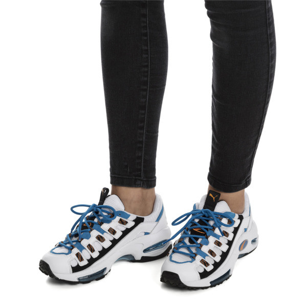 Cell Endura Trainers, Puma White-Indigo Bunting, large