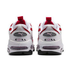 Thumbnail 4 of Cell Endura Trainers, Puma White-Hibiscus, medium