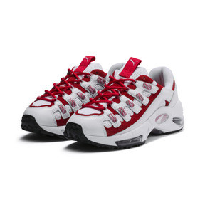 Thumbnail 3 of Cell Endura Trainers, Puma White-Hibiscus, medium