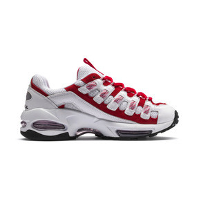 Thumbnail 6 of Cell Endura Trainers, Puma White-Hibiscus, medium
