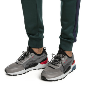 Thumbnail 2 of RS-0 TRACKS Trainers, Charcoal Gray-Puma Black, medium