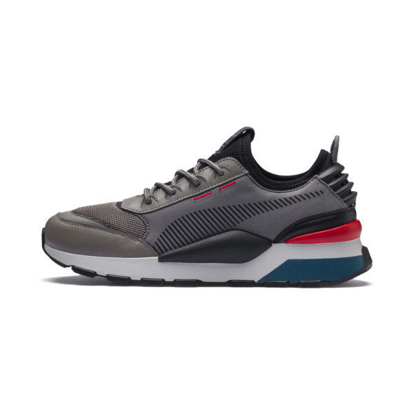 RS-0 TRACKS Trainers, Charcoal Gray-Puma Black, large