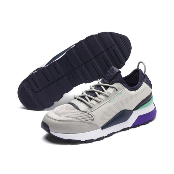 RS-0 Tracks, Gray Violet-Puma New Navy, large