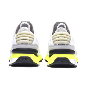 Thumbnail 4 of RS-0 TRACKS Trainers, Puma White-Fizzy Yellow, medium