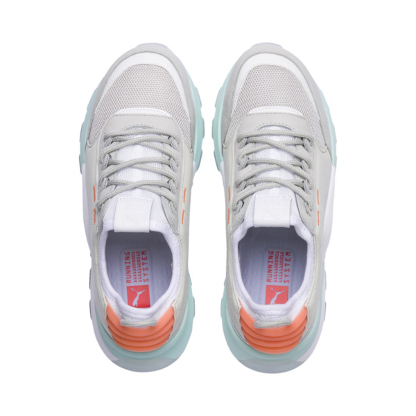 RS-0 TRACKS sneakers, Glacier Gray-Puma White, large