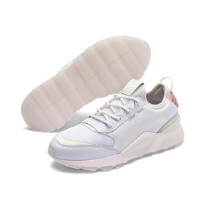 Thumbnail 2 of RS-0 TRACKS Trainers, Puma White-Marshmallow, medium