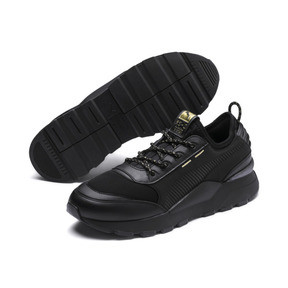 Thumbnail 3 of RS-0 Trophy Trainers, Puma Black-Puma Black, medium