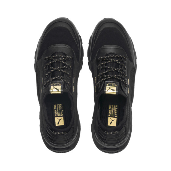 RS-0 Trophy Trainers, Puma Black-Puma Black, large