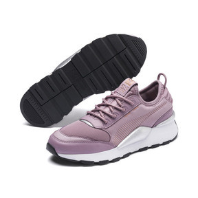 Thumbnail 2 of RS-0 Trophy Trainers, Elderberry-Puma White, medium