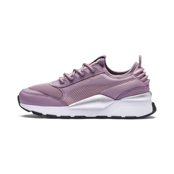 RS-0 Trophy Trainers, Elderberry-Puma White, large