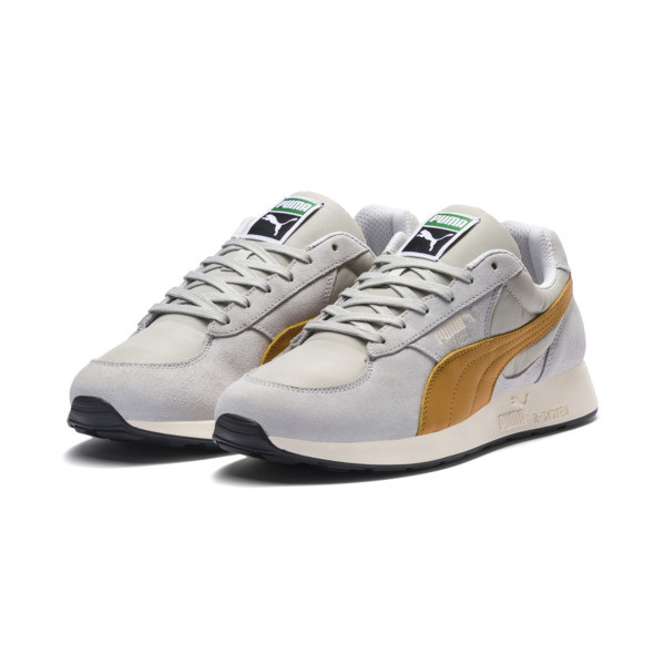 RS-1 Trainers, Glacier Gray-Inca Gold, large