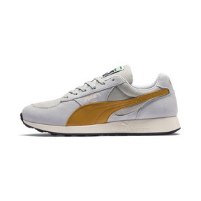 Thumbnail 1 of RS-1 Trainers, Glacier Gray-Inca Gold, medium