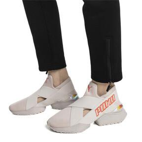 Thumbnail 7 of Muse 2 EOS Trailblazer Metallic Women's Sneakers, Silver Gray-Silver Gray, medium