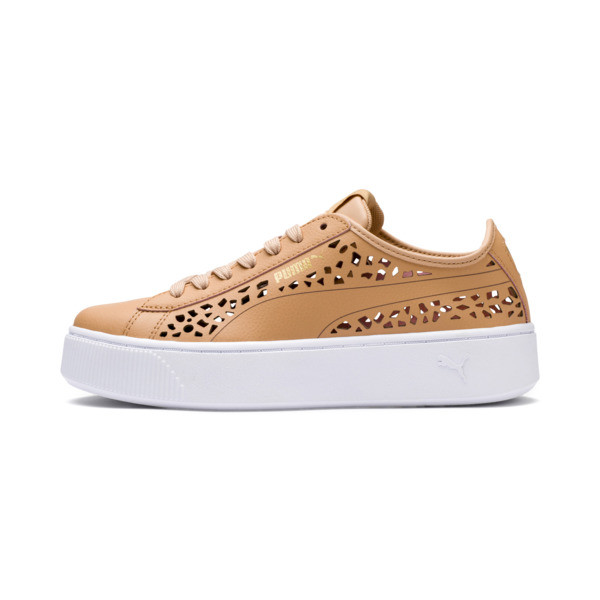 PUMA Vikky Stacked Laser Cut Women's Sneakers