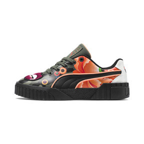 Thumbnail 1 of PUMA x SUE TSAI CALI 'PEONIES CAMO' WOMEN'S, Puma Black-Puma Black, medium-JPN