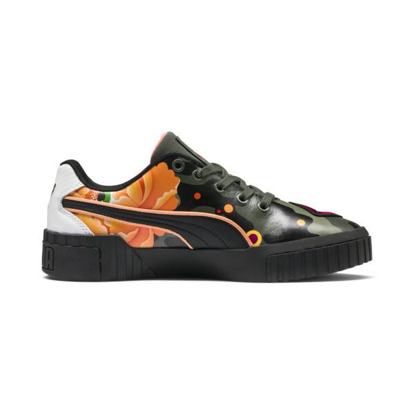 PUMA x SUE TSAI Cali Peonies Camo Women's Sneakers, Puma Black-Puma Black, large