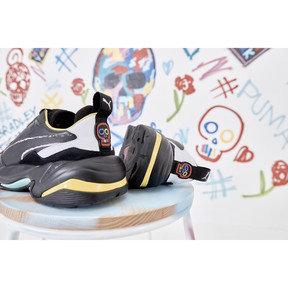Thumbnail 9 of PUMA x BRADLEY THEODORE Thunder Sneaker, Puma Black, medium