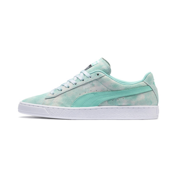 PUMA x DIAMOND Suede Trainers, Diamond Blue-Diamond Blue, large