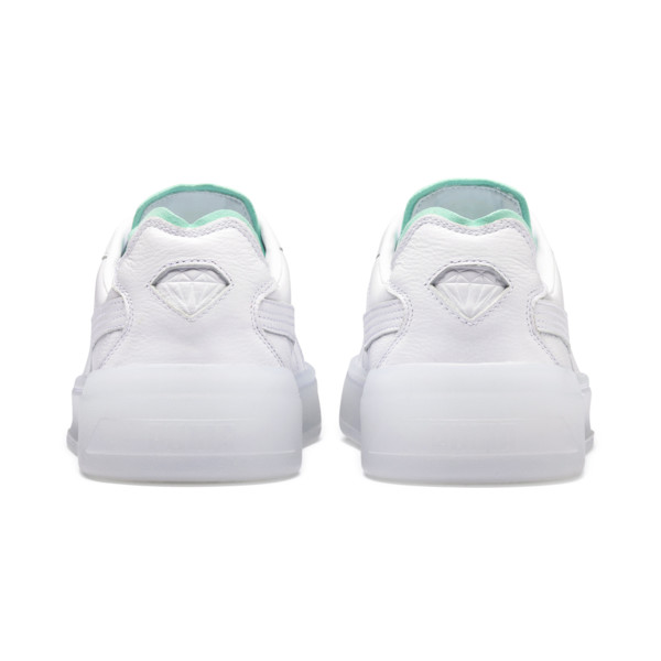 PUMA x DIAMOND Cali-0 Supply Sneaker, Puma White-Puma White, large