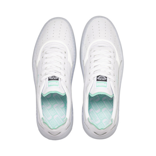 PUMA x DIAMOND SUPPLY CO. Cali-0 Sneakers, Puma White-Puma White, large