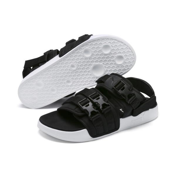 リードキャット YLM 19 サンダル, Puma Black-Puma White, large-JPN