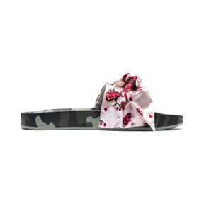 Thumbnail 5 of Leadcat 'Cherry Bombs' Satin Women's Sandals, Birch-Puma Black, medium