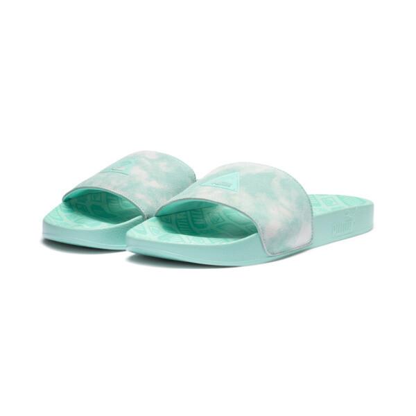 PUMA x DIAMOND SUPPLY CO. Leadcat Slides, Desert Flower-Diamond Blue, large