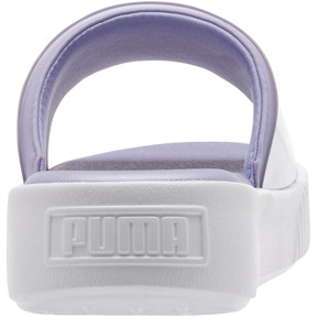 Thumbnail 3 of Platform Fashion Women's Slides, Sweet Lavender-Puma White, medium