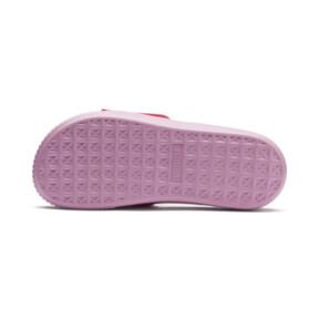 Thumbnail 4 of Platform Fashion Women's Slides, Hibiscus -Pale Pink, medium