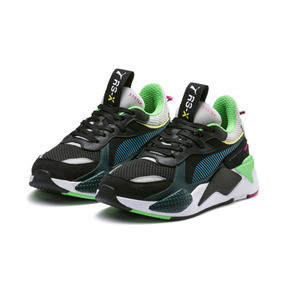 Thumbnail 3 of RS-X Toys Trainers, Puma Black-Blue Atoll, medium