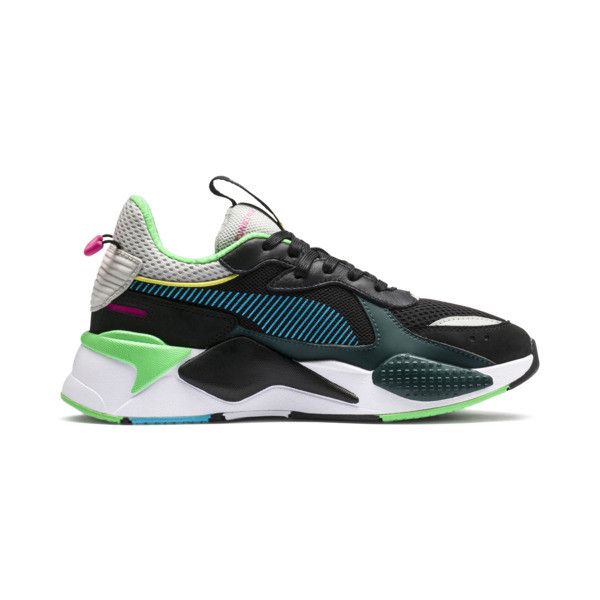 RS-X Toys Trainers, Puma Black-Blue Atoll, large