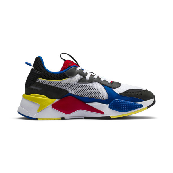 RS-X Toys Trainers, Puma White-Puma Royal, large