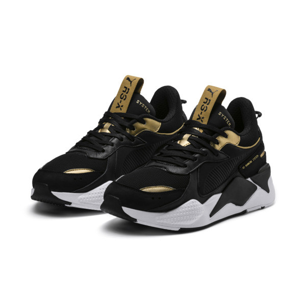 e5403e0fc3f RS-X TROPHY sneakers | Puma Black-Puma Team Gold | PUMA RS-X ...