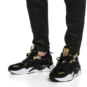 Thumbnail 2 of RS-X TROPHY Trainers, Puma Black-Puma Team Gold, medium