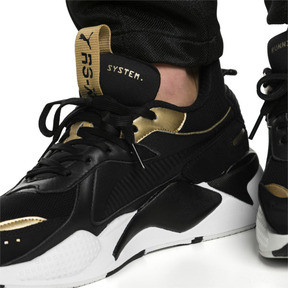 Thumbnail 8 of RS-X TROPHY Trainers, Puma Black-Puma Team Gold, medium