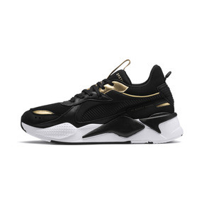 Thumbnail 1 of RS-X TROPHY Trainers, Puma Black-Puma Team Gold, medium