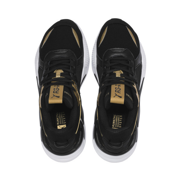 RS-X TROPHY Sneaker, Puma Black-Puma Team Gold, large