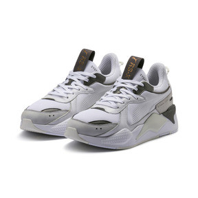 Thumbnail 2 of RS-X TROPHY Trainers, Puma White-Bronze, medium