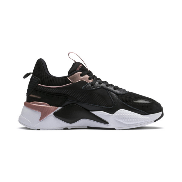 RS-X TROPHY Trainers, Puma Black-Rose Gold, large