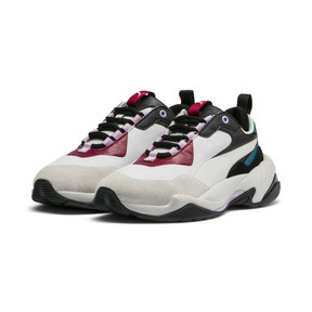 Thumbnail 3 of Thunder Rive Droite Women's Sneakers, Glacier Gray-Barbados Cherry, medium
