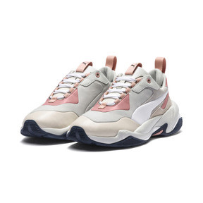 Thumbnail 3 of Thunder Rive Gauche Women's Trainers, Peach Beige-Glacier Gray, medium