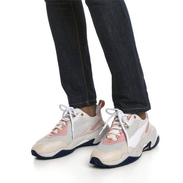 Thunder Rive Gauche Women's Trainers, Peach Beige-Glacier Gray, large