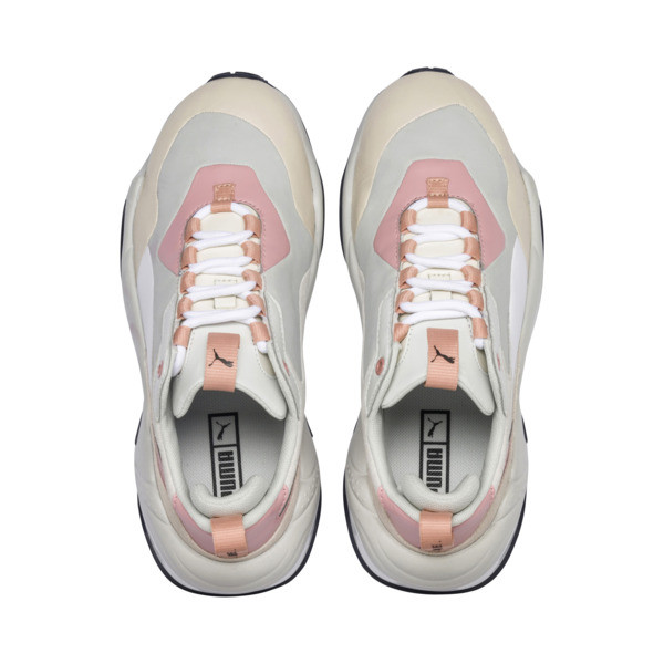 Thunder Rive Gauche Women's Sneakers, Peach Beige-Glacier Gray, large