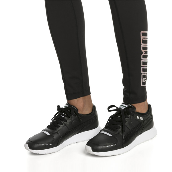 RS-150 Women's Sneakers, Puma Black-Puma Black, large