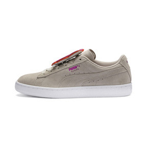 Suede Badge Women's Sneakers