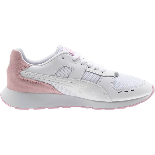 RS-150 Contrast Women's Sneakers, Puma White-Pale Pink, large