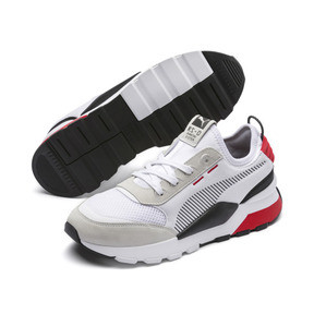 Thumbnail 4 of RS-0 Winter Inj Toys Trainers, Puma White-High Risk Red, medium